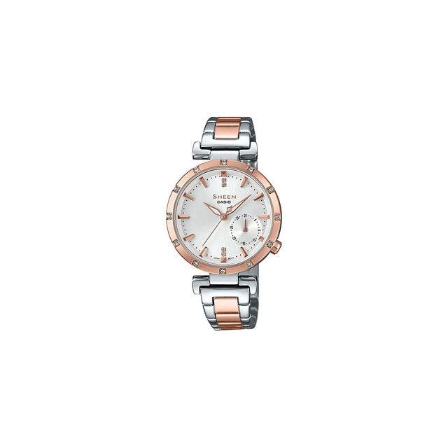 Наручные часы Casio SHE-4051SPG-7A женские кварцевые