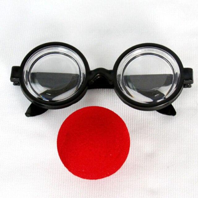Partie Accessoire Fausse Moustache Nez Sourcil de Clown Drôle Costume Props  Parti Lunettes Grand Nez Barbe 7891e5749cd9
