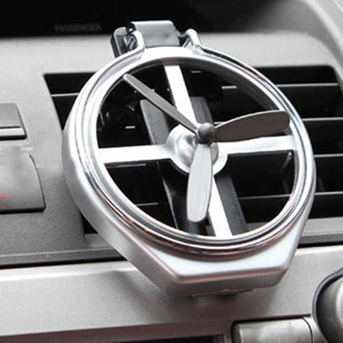 Universal Car Air Vent Halterung Trinken Flasche Tasse Halter Halterung Ständer Rack Mit Kleine Fan Auto Innen Zubehör
