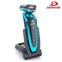 Jinding Triple Blade Shaver Rechargeable Electric Shaver Waterproof 4D Shaving Machine Beard Electric Razor For Men