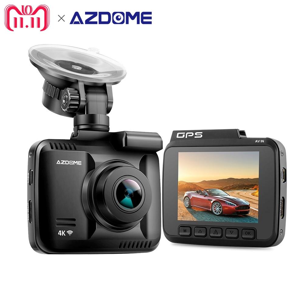 AZDOME GS63H 4 k 2160 p WiFi Construit en GPS Double Objectif FHD 1080 p Avant + VGA Arrière Caméra voiture DVR Enregistreur Dash Cam Dashcam Enregistreur