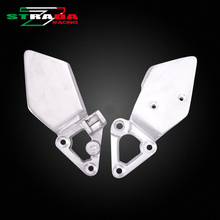 Front Foot Rests Pedal Bracket Assembly Kit For Honda CB-1 Motorcycle Parts