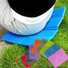 8 видов цветов 275 мм XPE открытый складной XPE водонепроницаемый походный коврик для пикника влагостойкий сидящий коврик подушка пенопластовый пляжный коврик туристический коврик