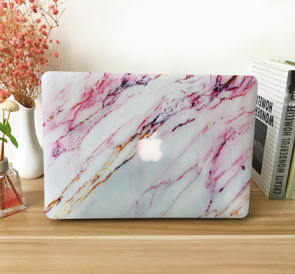 2018 New Laptop Case Cover Color Shell For Apple Macbook Air 11 13 inch 12 15 Hard Bag