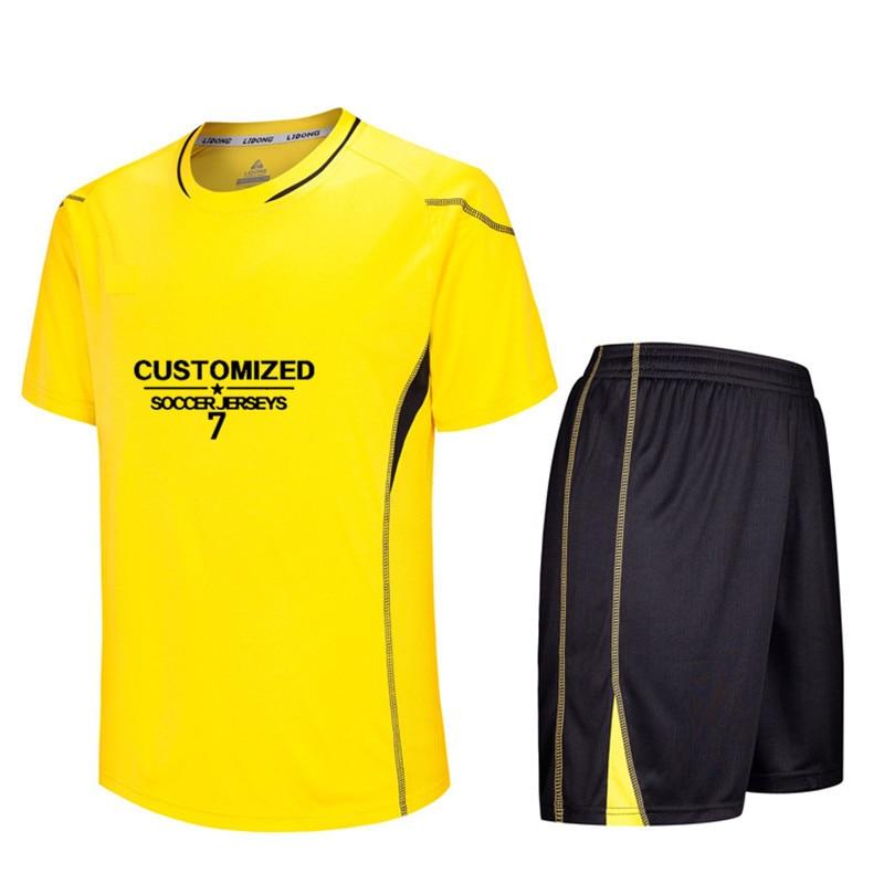 566f0a83d Conjuntos de camisas de Futebol dos homens Survêtement Football Kit  Conjuntos Personalizados Uniformes de Futebol Kits