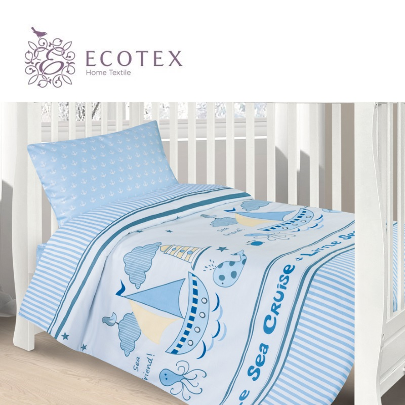 Фото - Baby bedding Cruise,100% Cotton. Beautiful, Bedding Set from Russia, excellent quality. Produced by the company Ecotex flower print bedding set