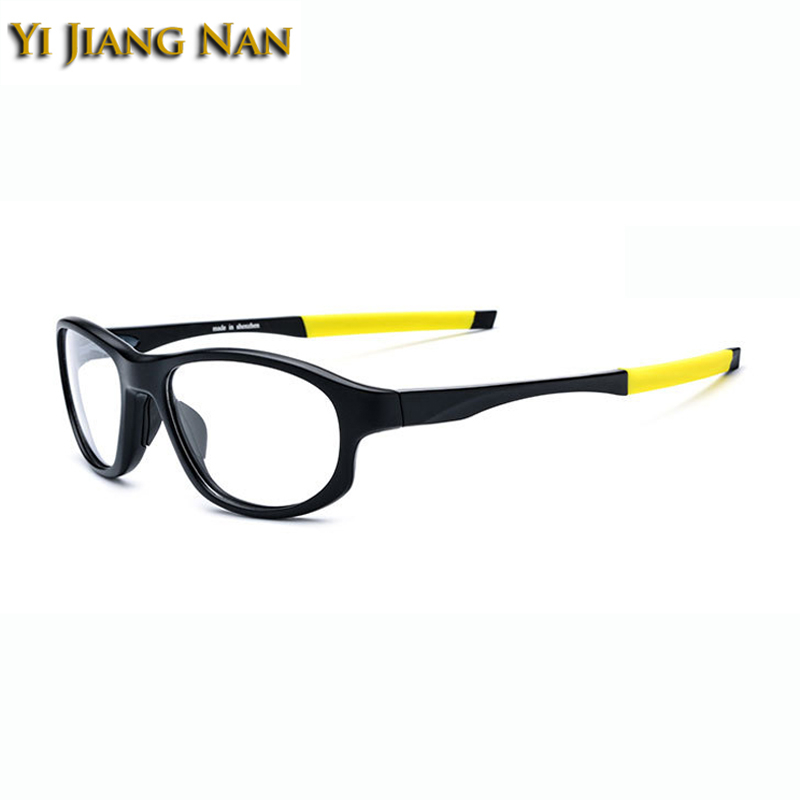 Yi Jiang Nan Brand Men Sports Glasses Frame TR90 Basketball Glasses Optical Prescription Spectacles Quality Glasses for Women in Men 39 s Prescription Glasses from Apparel Accessories