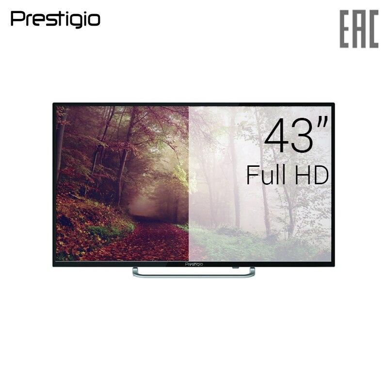 Prestigio LED LCD TV 43 PTV43DN01Y_BK_CIS FullHD 4049inchTV dvb dvb-t dvb-t2 digital led tv 43 goldstar lt 43t510f fullhd 4049inchtv