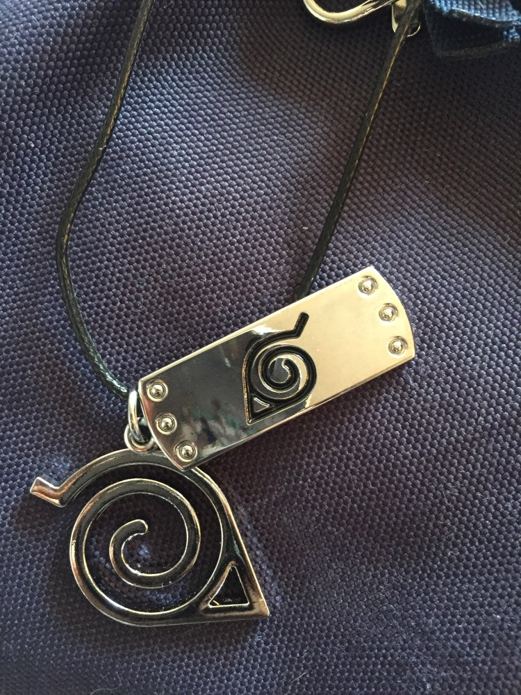 Naruto Leaves Ninja Pendant photo review