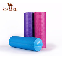 CAMEL 45/60CM Foam Rollers Yoga Blocks Fitness Exercise Equipment Muscle Neck Massage Pilates EVA Gym Sports Relieve Sport Tool(China)
