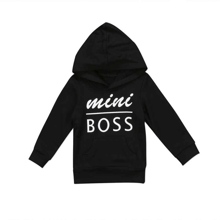 4f0a5a845 Pudcoco Kids Boys Hoodie Long Sleeve Hooded Sweatshirt Pullover Toddlers  Baby Boy Sweat Graphic Tops Children