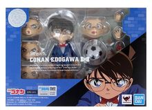 Original SHFiguarts Conan Edogawa Detective Conan action figure PVC model Figura Dolls Brinquedos figurine original k on hirasawa yui figure akiyama mio figura tainaka ritsu model kotobuki tsumugi sculpture