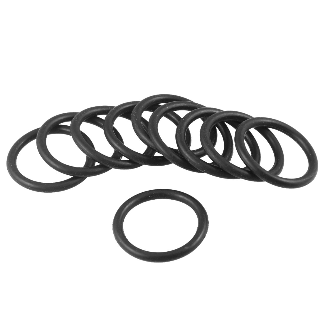 2.4mm 16.4mm  Cross section ID 11.6mm 2x seal NBR O-ring OD
