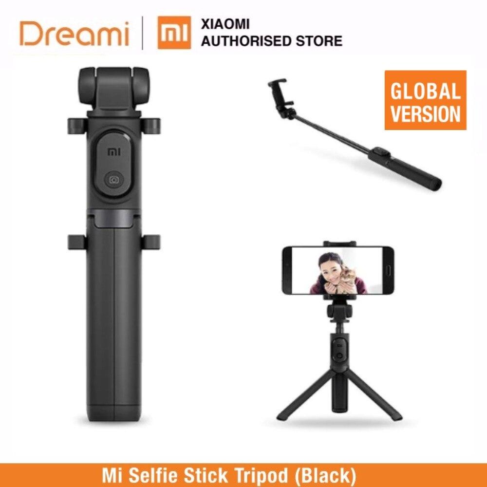 (Global Version) Xiaomi Mi Foldable Tripod Selfie Stick [Bluetooth Selfiestick] [Wireless Shutter Selfie Stick]