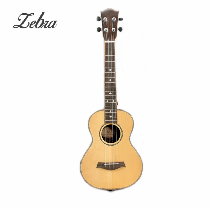 26 Inch 4 Strings Spruce Panel Guitarra Electric Guitar Concert Ukulele For Musical Stringed Instruments Lover savarez 510 cantiga series alliance cantiga normal high tension classical guitar strings full set 510arj