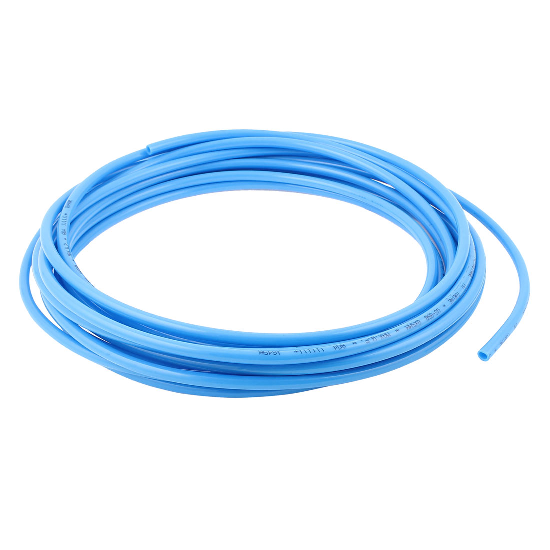 UXCELL 8Mm X 5Mm Pneumatic Air Compressor Tubing Pu Hose Tube Pipe 9.5M Blue beibehang classic feature solid wall paper plain stripe non woven home decor papel de parede 3d wallpaper roll for bedroom white