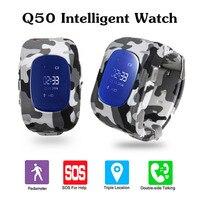KINCO SOS Kid Niño Inteligente Reloj GPS/BDS Ubicación SIM SMS Alerta Alerta de Sabotaje de Control Remoto APP Inteligente Muñequera para IOS/Android
