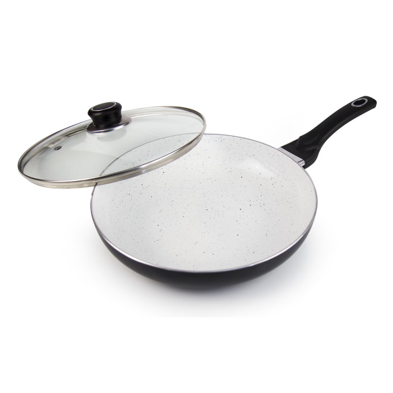 Frying pan with lid Galaxy GL 9820 frying pan with lid galaxy gl 9816