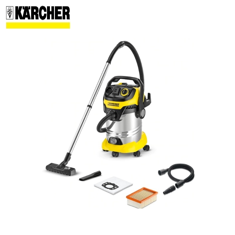 Vacuum cleaner KARCHER WD 6 P PREMIUM Home vacuum Bagless vacuum cleaner Hand vacuum cleaner Hoover тонер картридж hp 645a c9730a