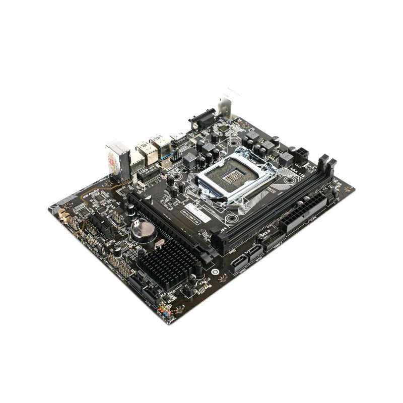 用カラフルC.H110M-T ddr4オリジナル新しいh110マザーボードlga 1151サポートG4560 sata3 32グラムusb3.0マイクロatx