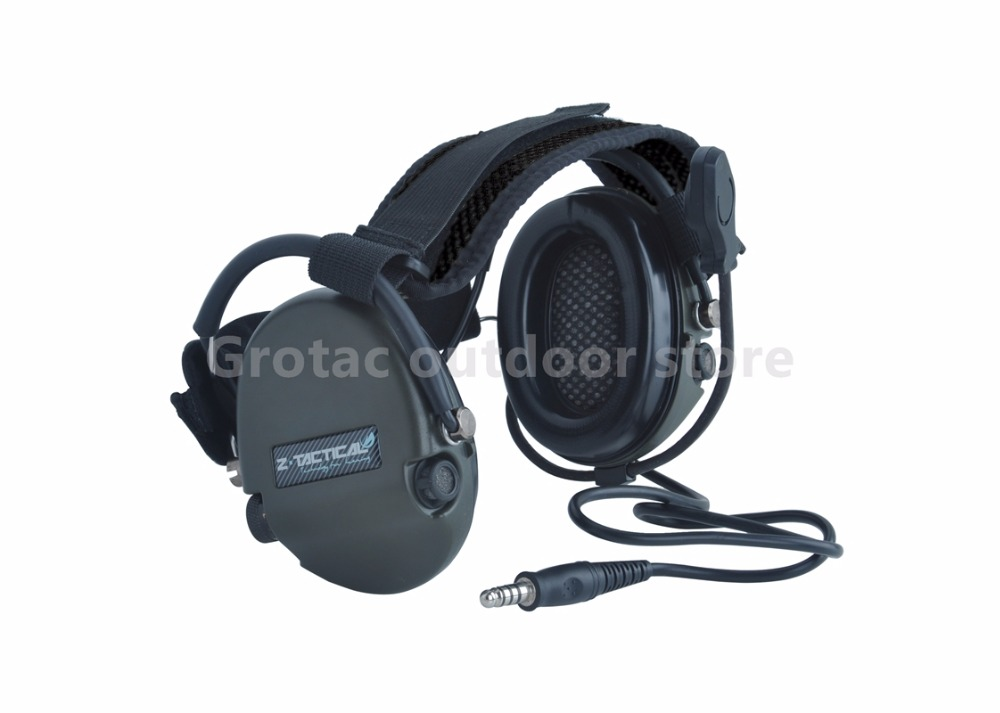 Z-tactical Zsordin Headset Z Tactical Airsoft Comtac ZComtac II Active Noise Canceling Headphone генератор дыма antari z 800 ii