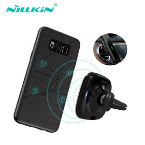 Image 4 - Nillkin Magnetic Car Wireless Charger Holder for iPhone 11 Xs Max Xr X for Galaxy S10 S9 Plus for Xiaomi Mi 9 for Huawei 5W