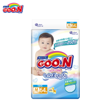Подгузники GOON Boys and Girls 6-11 кг (64 шт.) М(China)