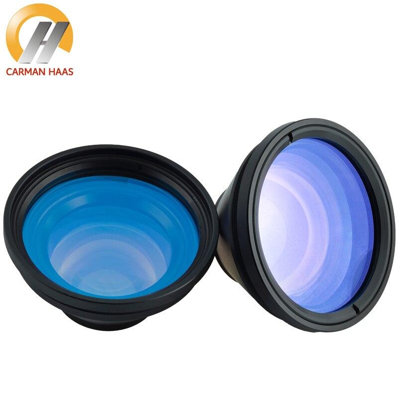 CARMANHAAS 1064nm Scanner de lentille de balayage de Fiber Laser F Theta lentille pour Machine de marquage Laser