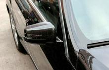 TEAEGG carbon Seitenspiegel-abdeckung Trim Für Mercedes Benz ML W166/GL X166 2012-2015