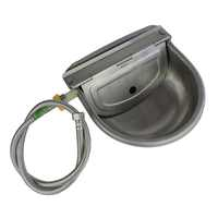 1PC Stainless Steel Cow Cattle Water Bowls Drinking bowls Cattle Dog Cattle Float Bowl Automatic Farm Grade Water Outlet