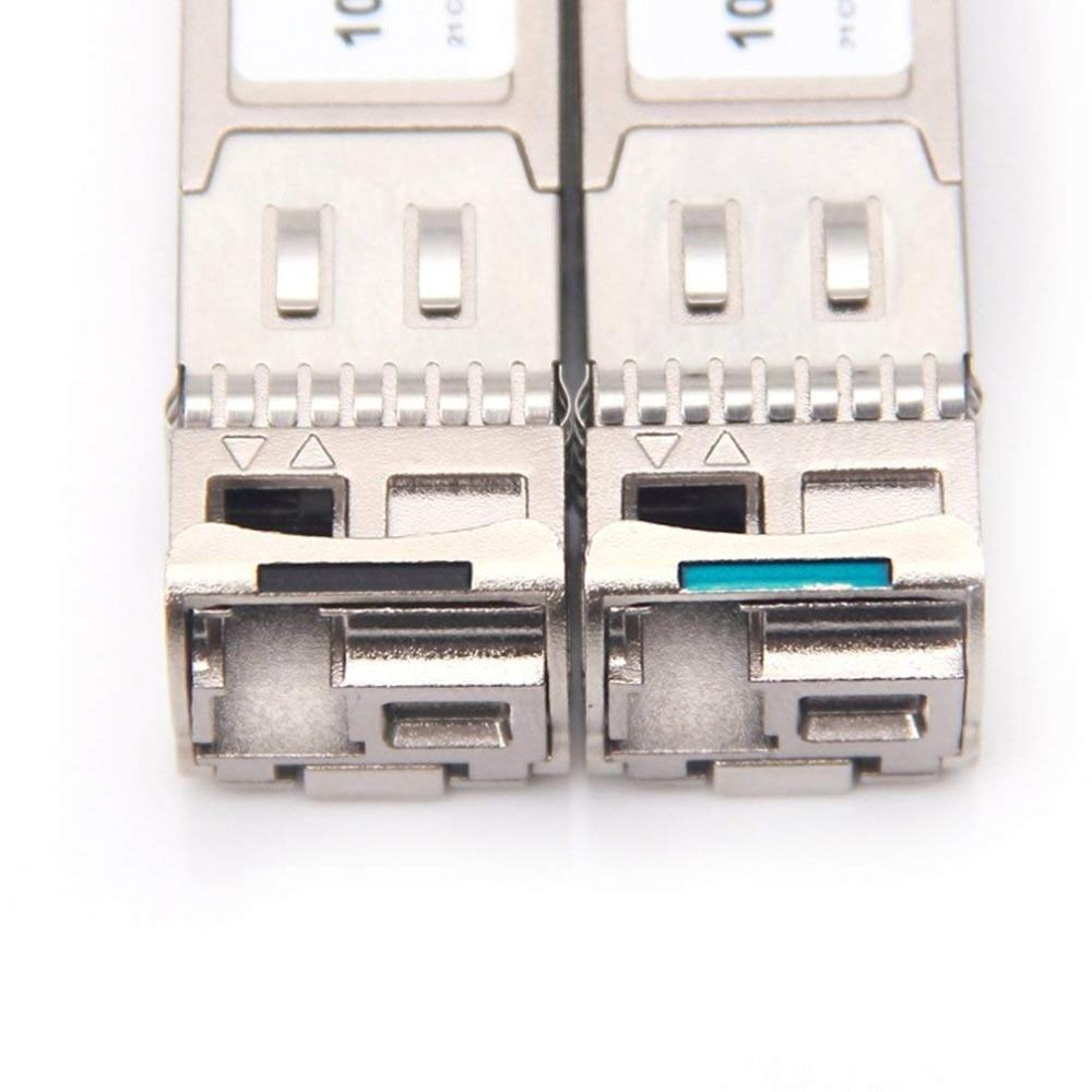 Un par 20 km 10 Gb SFP BIDI para SFP-10G-BXD-I / SFP-10G-BXU-I - Equipos de comunicación - foto 3