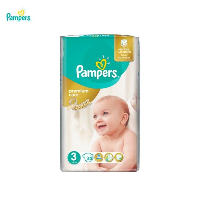 Подгузники Pampers Premium Care 5-9 кг, 3 размер, 60 шт.