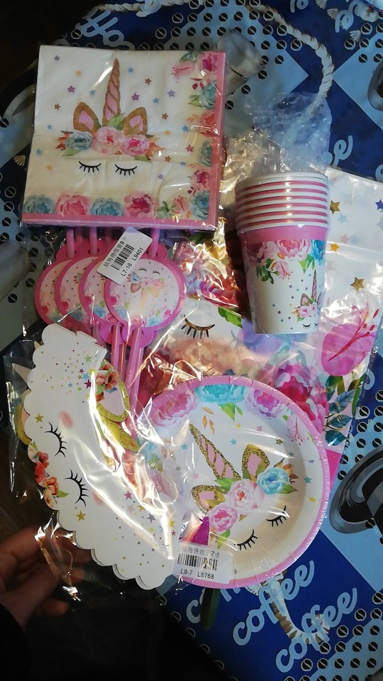 Unicorn Party Decoration Unicorn Theme photo review