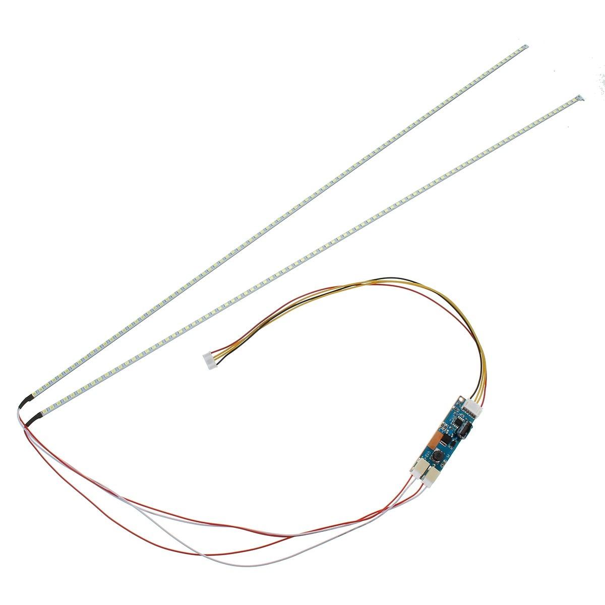 Der artikel 15 bis 24 zoll universal LCD led-lichter ändern LCD FÜHRTE upgrade kit Einstellbare helligkeit 540mm