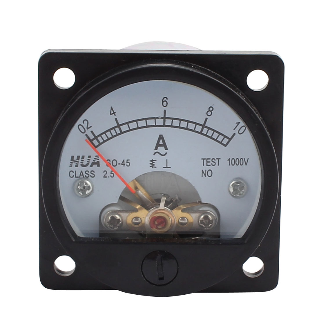 Ac Ammeter Panel Meter : Uxcell class accuracy ac a round analog panel