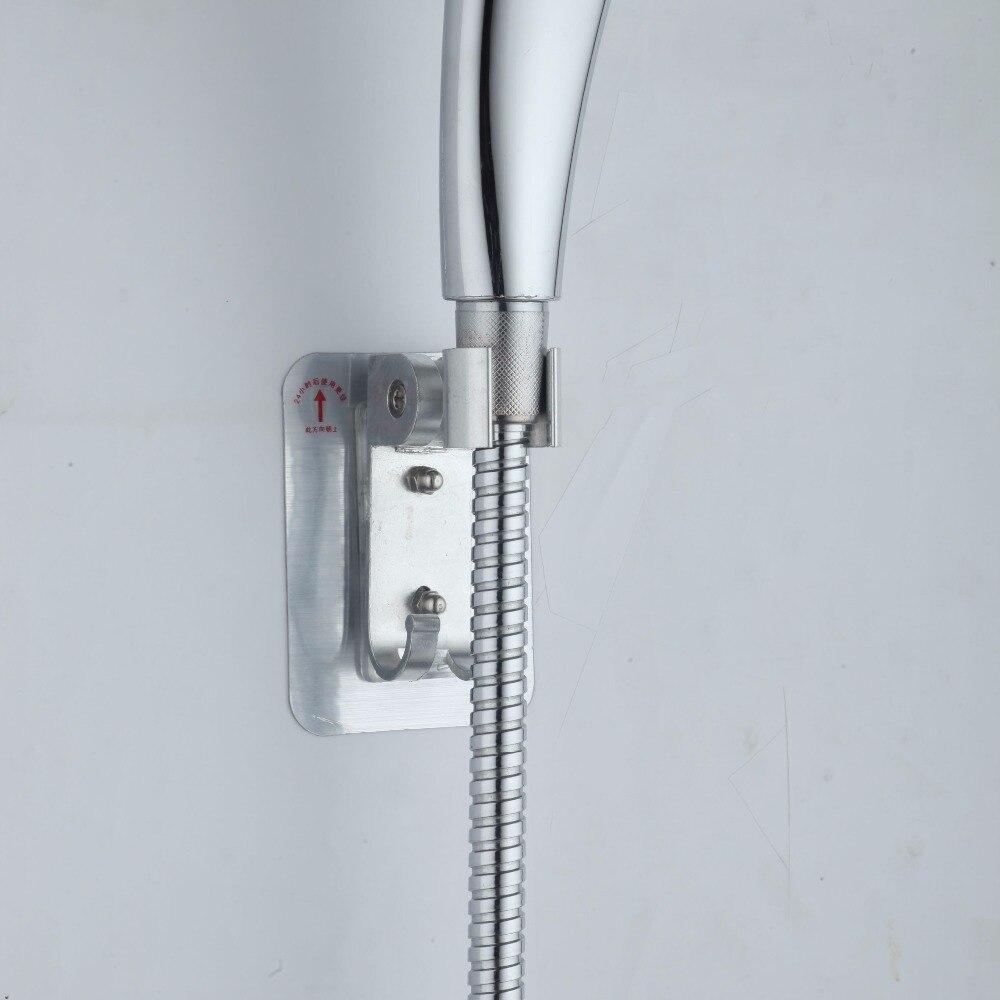 Shower Holder Bathroom Accessories Chrome Plated Gel Shower Head ...