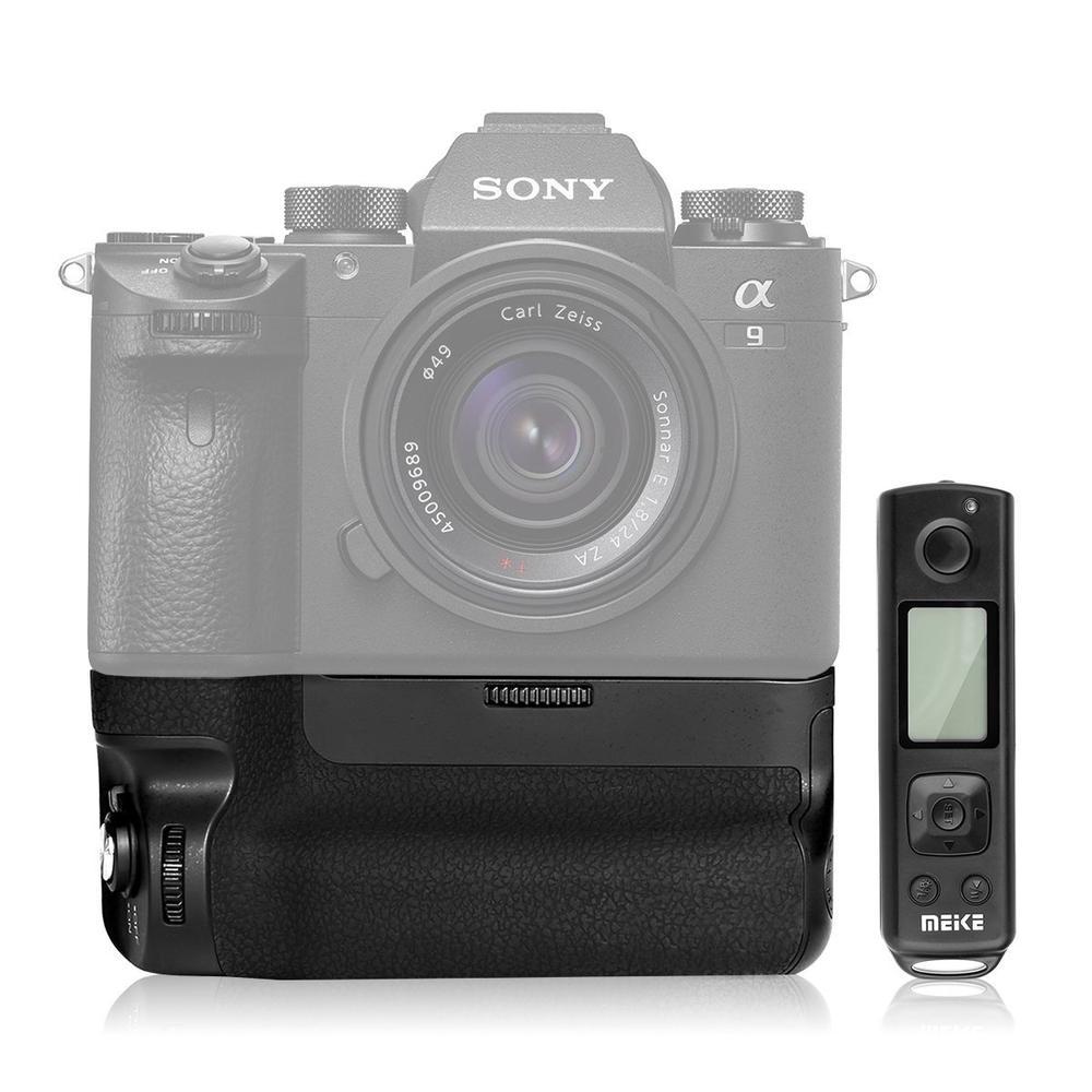 Meike MK-A9 PRO Batterie Grip avec 2.4 ghz À Distance Contrôleur à la Verticale-tir pour Sony A7 III A9 A7RIII a7III a7iii Comme VG-C3EM