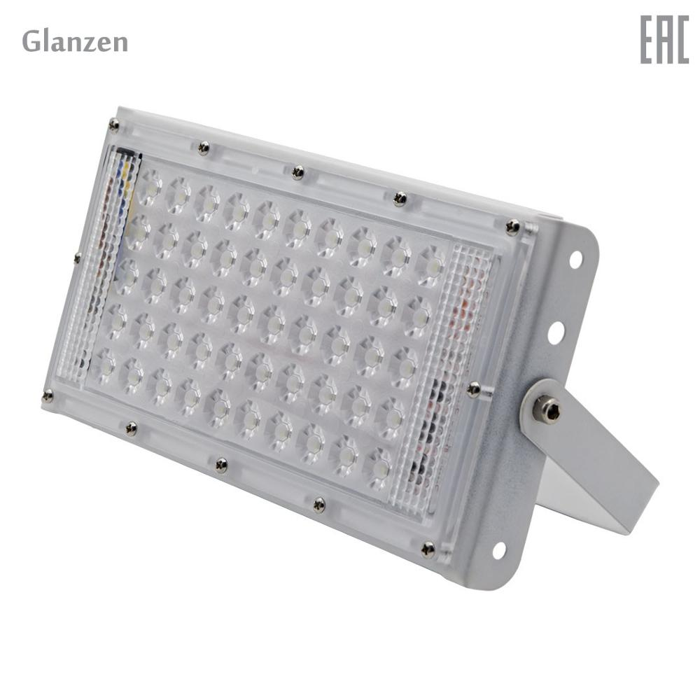 Led spotlight GLANZEN FAD-0030-50 portable led spotlight glanzen fad 0014 20