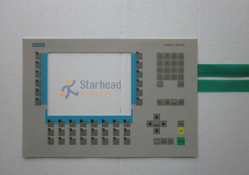 Membrane Keypad for Siemens MP270B-10 6AV6542-0AG10-0AX0 Button Film Switch