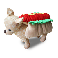 TINGHAO Funny Hot Dog Dress Up Costume Puppy Pet Halloween Christmas Cosplay Clothes