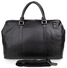 Large Capacity Men Travel Duffle Bags Real Leather 2018 Man Black Weekend Shoulder Bags Multifunctional  Big Tote Duffel Bag цена 2017