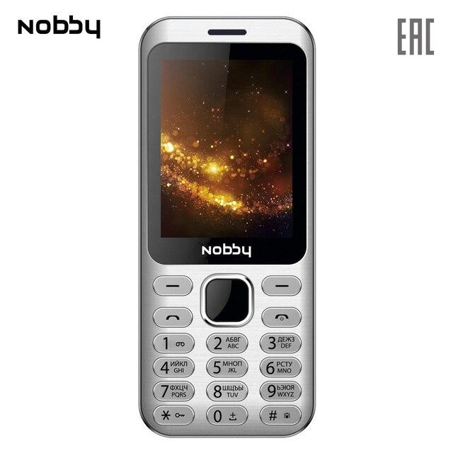 Мобильный телефон Nobby 320 , 2 симкарты, ThreadX, камера, фотокамера, цветной дисплей