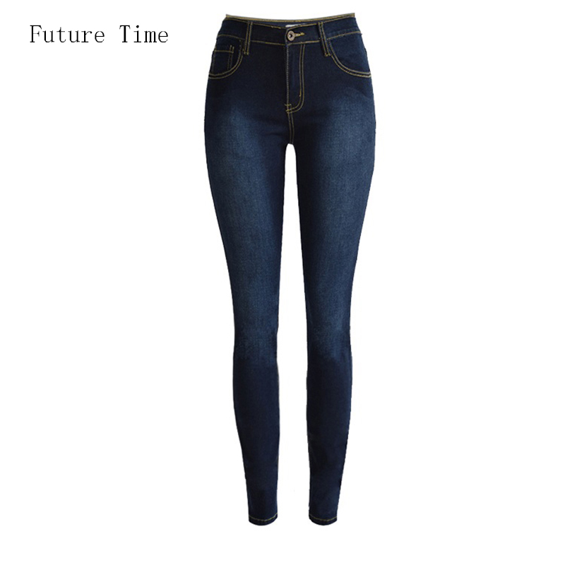 2017 new women jeans sexy push up hip high waist slim pencil pants jeans woman tight elastic  stretch jeans C0741 2017 new jeans women spring pants high waist thin slim elastic waist pencil pants fashion denim trousers 3 color plus size