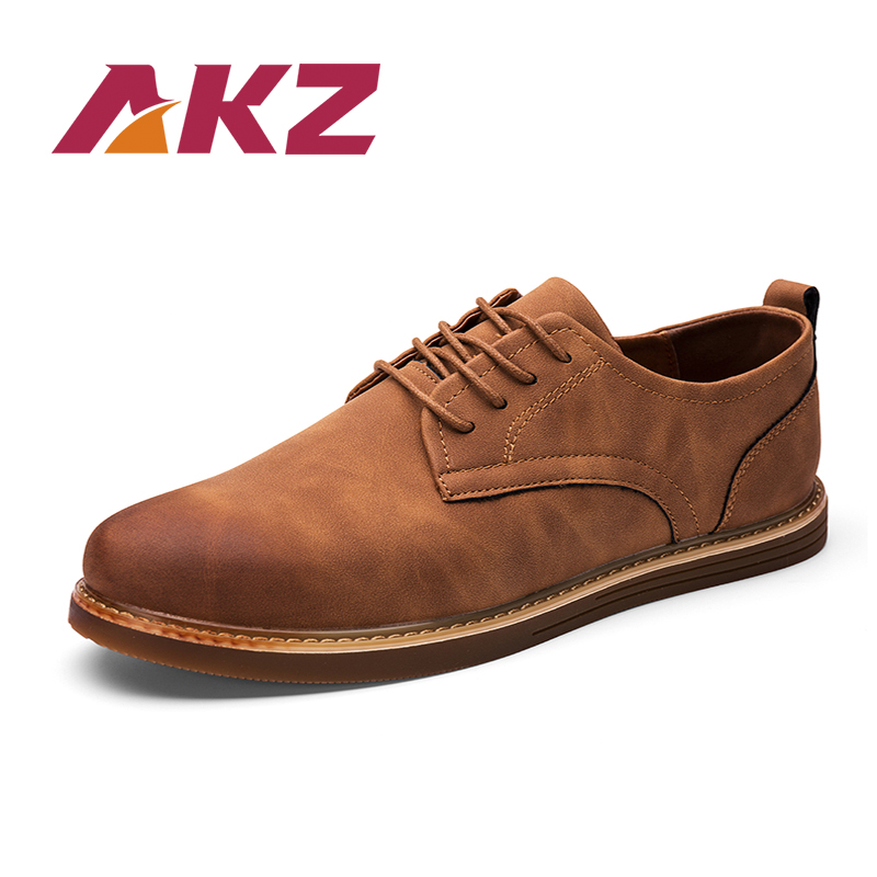AKZ Brand Casual Shoes Men 2018 New Spring Summer shoes High Quality - Kasut lelaki