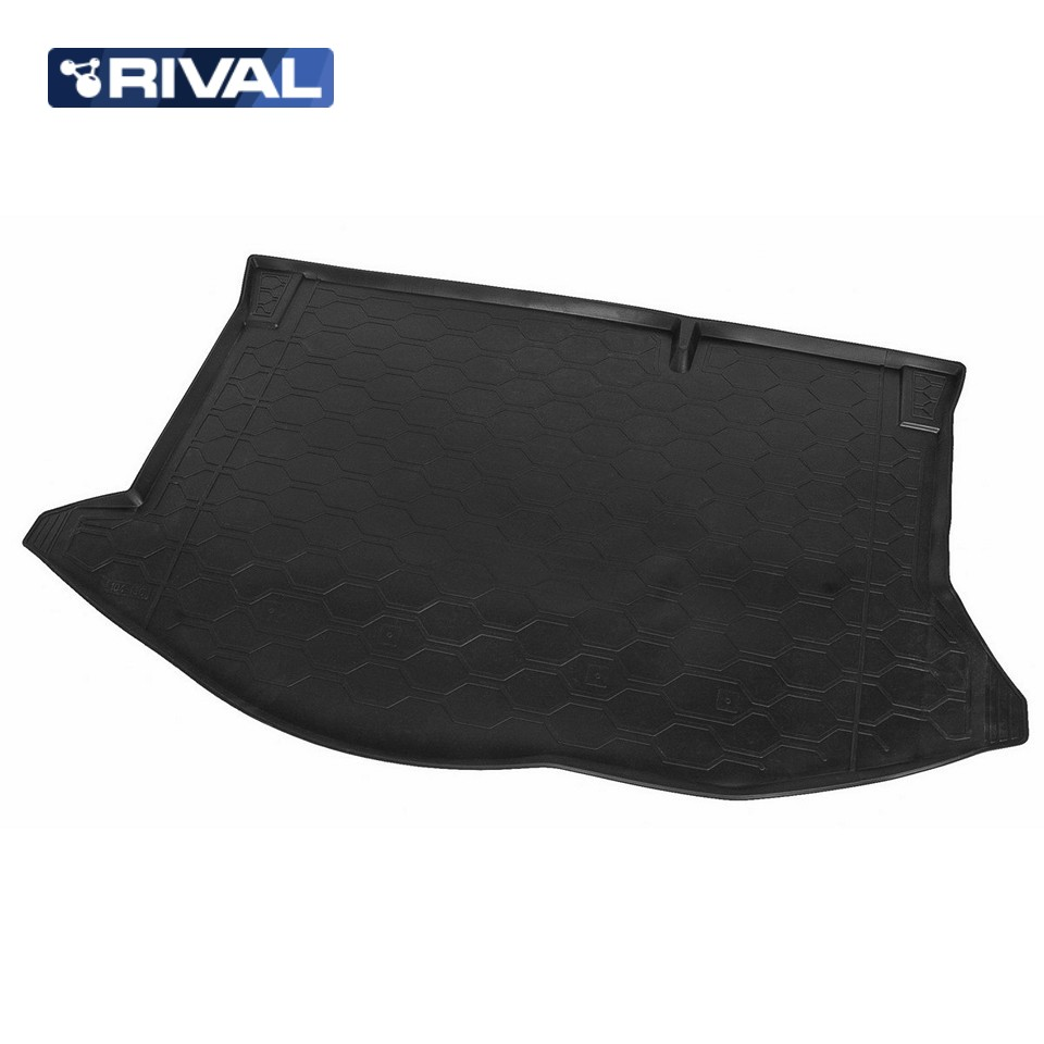 Фото - For Ford Fiesta HATCHBACK 2015-2019 trunk mat Rival 11805002 carking xxft outdoor hatchback car anti dust cover for fiesta silver grey