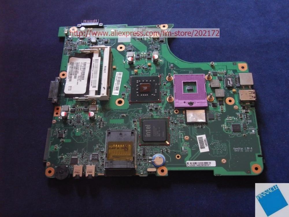 V000148280 MOTHERBOARD FOR TOSHIBA Satellite L350 L355 6050A2264901 v000185070 motherboard for toshiba satellite l500 l505 satellite pro l500 6050a2302901