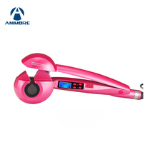 ФОТО animore lcd screen automatic curling iron heating hair care styling tools ceramic wave hair curl magic hair curler ci-01