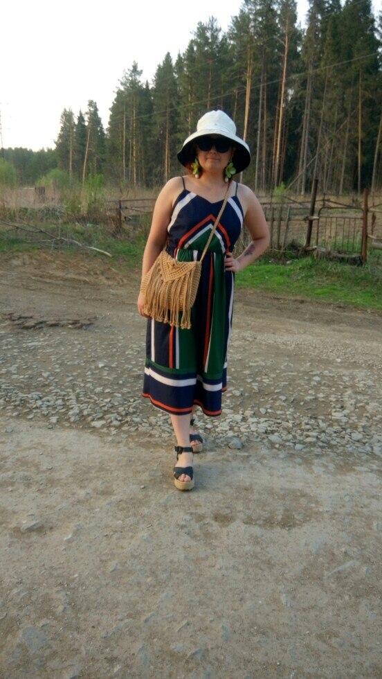 Jocoo Jolee Casual Striped Print Women Beach Dress with Spaghetti Strap Indie Folk Style  Summer Dress with O-Neck 2018 New