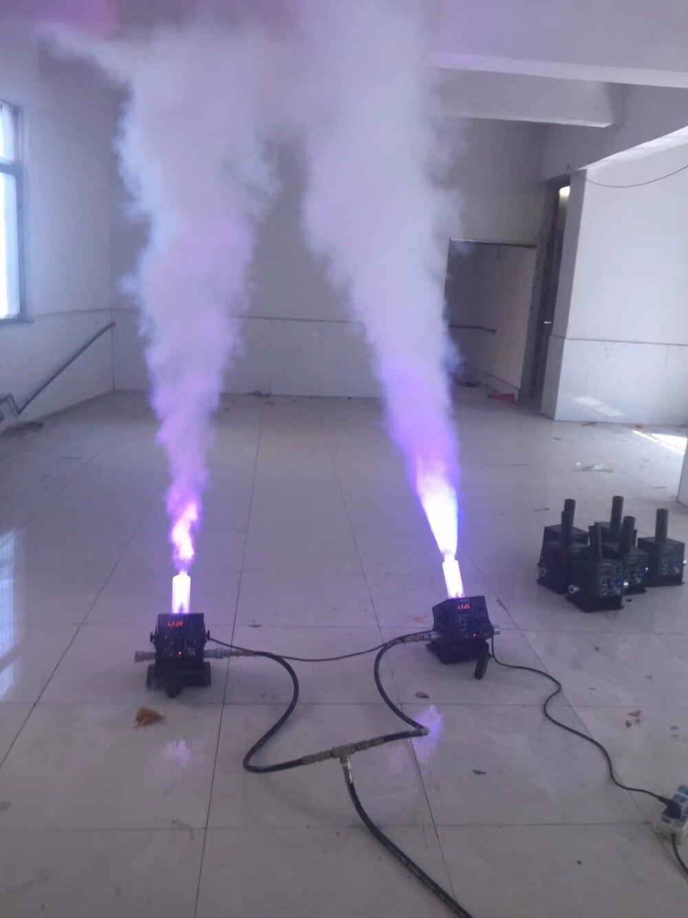 DJ Equipment LED Co2 Jet Machine 12 x 3W RGB 3IN1 CO2 Jet Machine Smoke Machine for nightclub party DJ