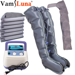 Tall Man  Extended version Air Compression Massager Handheld Controller Blood Circulation Pump Wrap Set for Relax Massage
